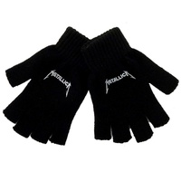 Metallica Logo Fingerless Gloves
