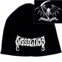 Dissection Logo Reaper Jersey Beanie Hat
