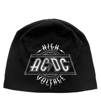 AC/DC High Voltage Jersey Beanie Hat