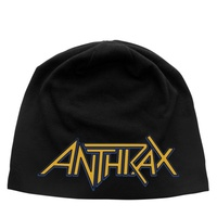 Anthrax Yellow Logo Jersey Beanie