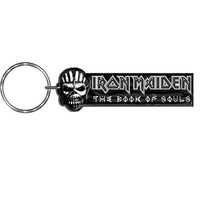 Iron Maiden Book Of Souls Metal Keychain