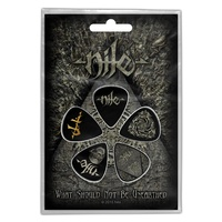 Nile What Should Not Be Unearthed Guitar Pick 5 Pack