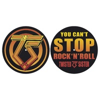 Twisted Sister You Can't Stop Rock 'N' Roll Turntable Slipmats