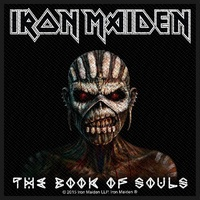 Iron Maiden Book Of Souls Patch