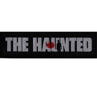 The Haunted Bullet Logo Strip Patch