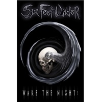 Six Feet Under Wake The Night Poster Flag