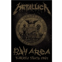 Metallica Bay Area Thrash Poster Flag