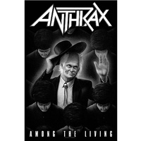 Anthrax Among The Living Poster Flag