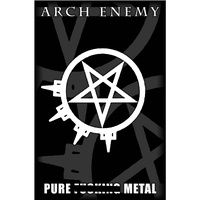 Arch Enemy Pure Fucking Metal Poster Flag