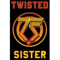 Twisted Sister Logo Poster Flag