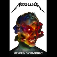 Metallica Hardwired To Self Destruct Poster Flag