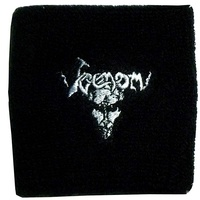 Venom Black Metal Wristband