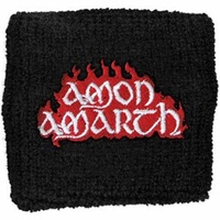 Amon Amarth Red Flame Wristband