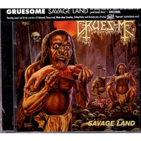 Gruesome Savage Land CD