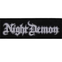 Night Demon Logo Patch