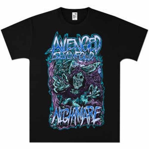 Avenged Sevenfold Reaper Scream XXL Shirt