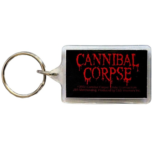 Cannibal Corpse Logo Lucite Keychain