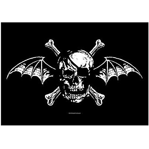 Avenged Sevenfold Deathbat Fabric Poster Flag