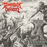 Damnation Defaced Invader From Beyond CD