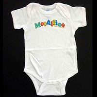 Metallica Colour Logo Baby Bodysuit