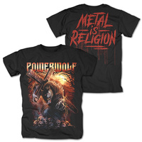 Powerwolf Via Dolorosa Shirt