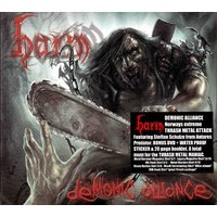 Harm Demonic Alliance Deluxe CD DVD Digipak