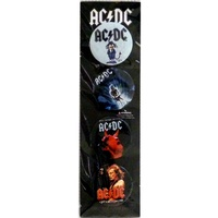 AC/DC Badge Set #2