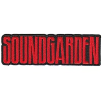 Soundgarden Logo Patch