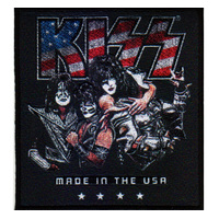 Kiss Made In The USA Patch