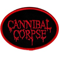 Cannibal Corpse Oval Logo Patch
