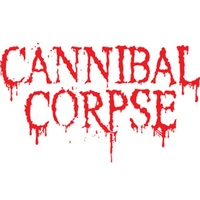 Cannibal Corpse Red Logo Rub On Sticker