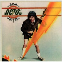 AC/DC High Voltage Sticker