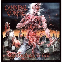 Cannibal Corpse Eaten Back To Life Sticker