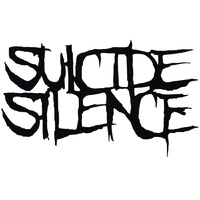 Suicide Silence Black Logo Rub On Sticker
