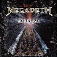 Megadeth Engame Album Cover Sticker