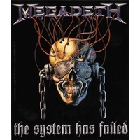 Megadeth The System Has Failed Sticker
