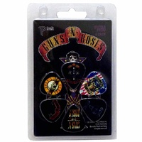 Guns N Roses GR2 Guitar Pick 6 Pack