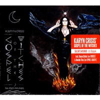 Karyn Crisis' Gospel Of The Witches CD Ltd Edtion Digi