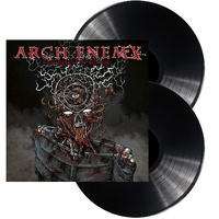 Arch Enemy Covered In Blood 2 LP Gatefold Vinyl Record