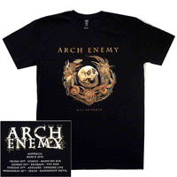 Arch Enemy Will To Power Australian Tour Shirt