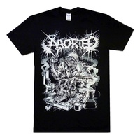 Aborted Mad Scientist Australian Tour Shirt