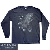 Amenra Raven Grey Long Sleeve Shirt