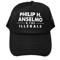 Phil Anselmo And The Illegals Black Baseball Hat