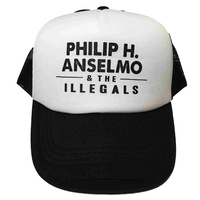 Phil Anselmo And The Illegals White Baseball Hat