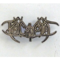 Psycroptic Cut Out Logo Pin
