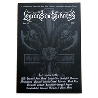 Legions Of Darkness Zine Issue 2 Book