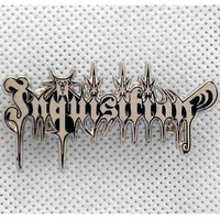 Inquisition Cut Out Logo Pin