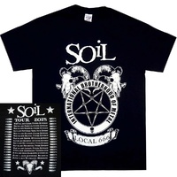 Soil Brotherhood Of Metal Tour Shirt