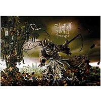 Children Of Bodom Relentless Reckless Forever Fabric Poster Flag