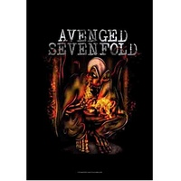 Avenged Sevenfold Fire Bat Fabric Poster Flag